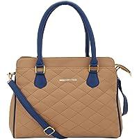 Lapis O Lupo Quilt Women Handbag (Beige)