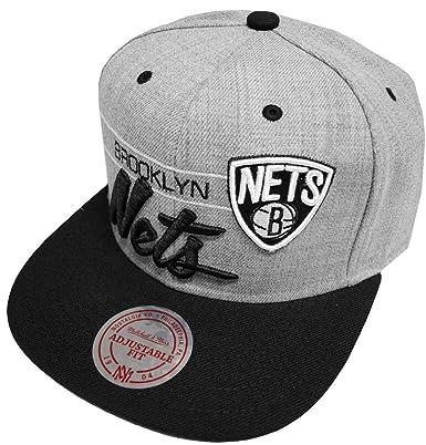 Mitchell   Ness NBA Brooklyn Nets Snapback Cap City Bar NZ73Z Kappe Basecap edec773be5c2