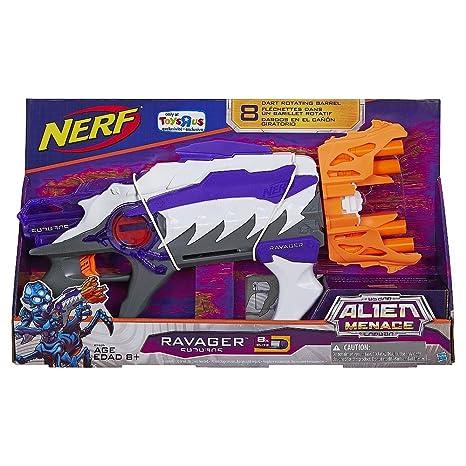 Amazon NERF Alien Menace Ravager Blaster Toys Games