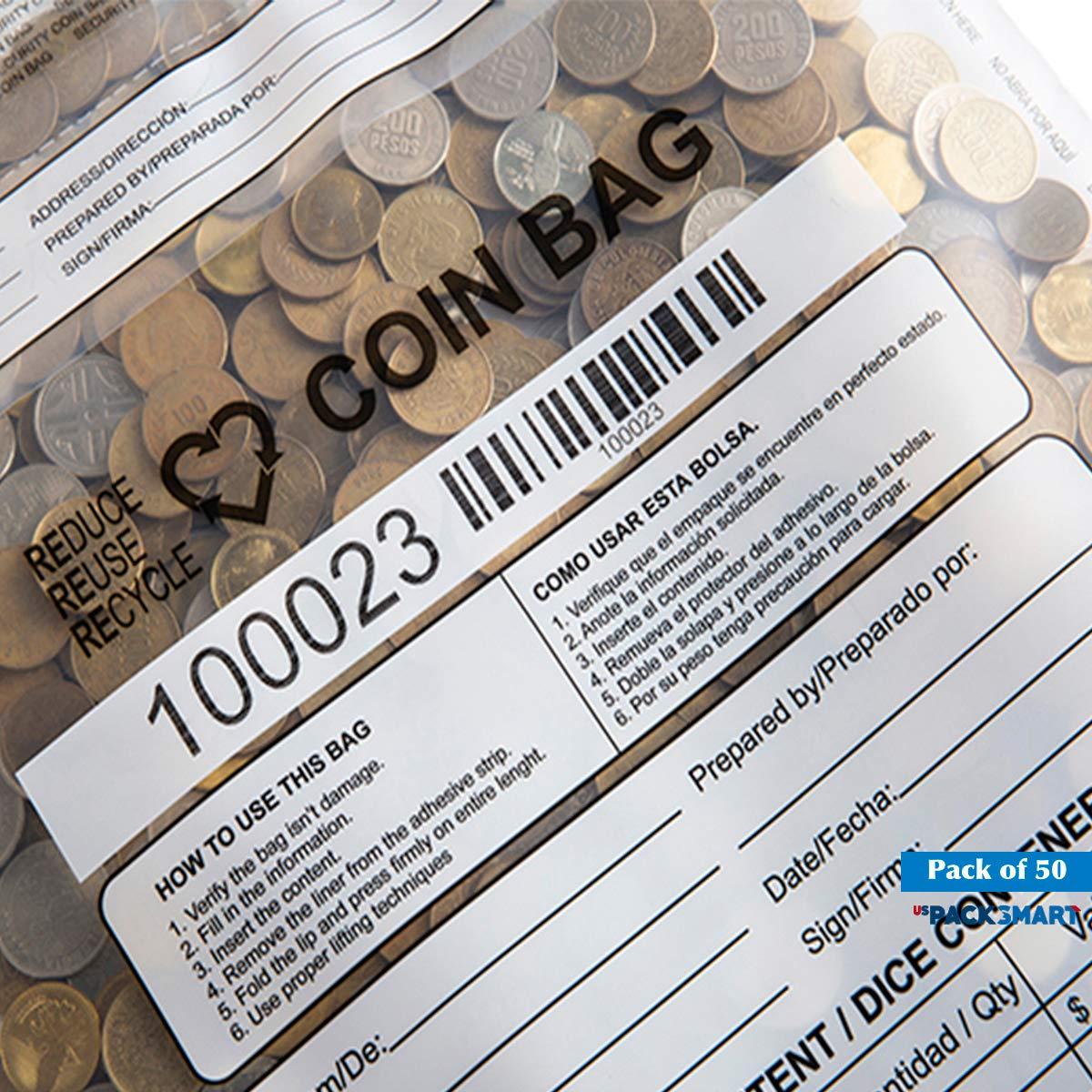 Amazon.com: Bolsas de monedas USPACKSMART, bolsas de ...