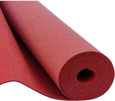 Fieltro, fieltro decorativo Plástico, fieltro, Fieltro blando, 150 cm de ancho, 3 mm de espesor, metro 0,5lfm – Melange Rojo: Amazon.es: Hogar