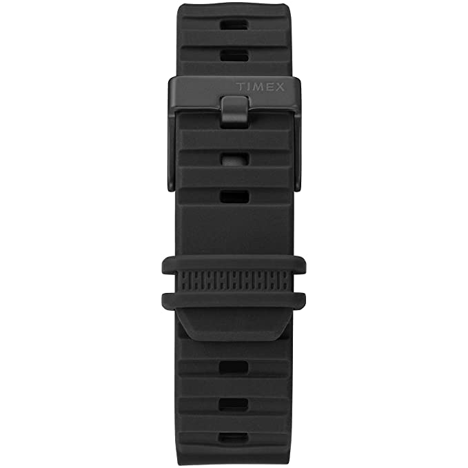 Amazon.com: Timex Mens TW5M26100 BST.47 Black Silicone Strap Watch: Watches