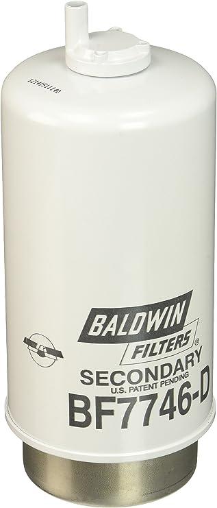 BALDWIN FILTERS Fuel Filter,7-21//32 x 3-1//2 x 7-21//32 In BF7949-D