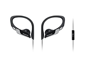 Panasonic RP-HS35ME-K - Auriculares Deportivos (Impermeable, Uso ...