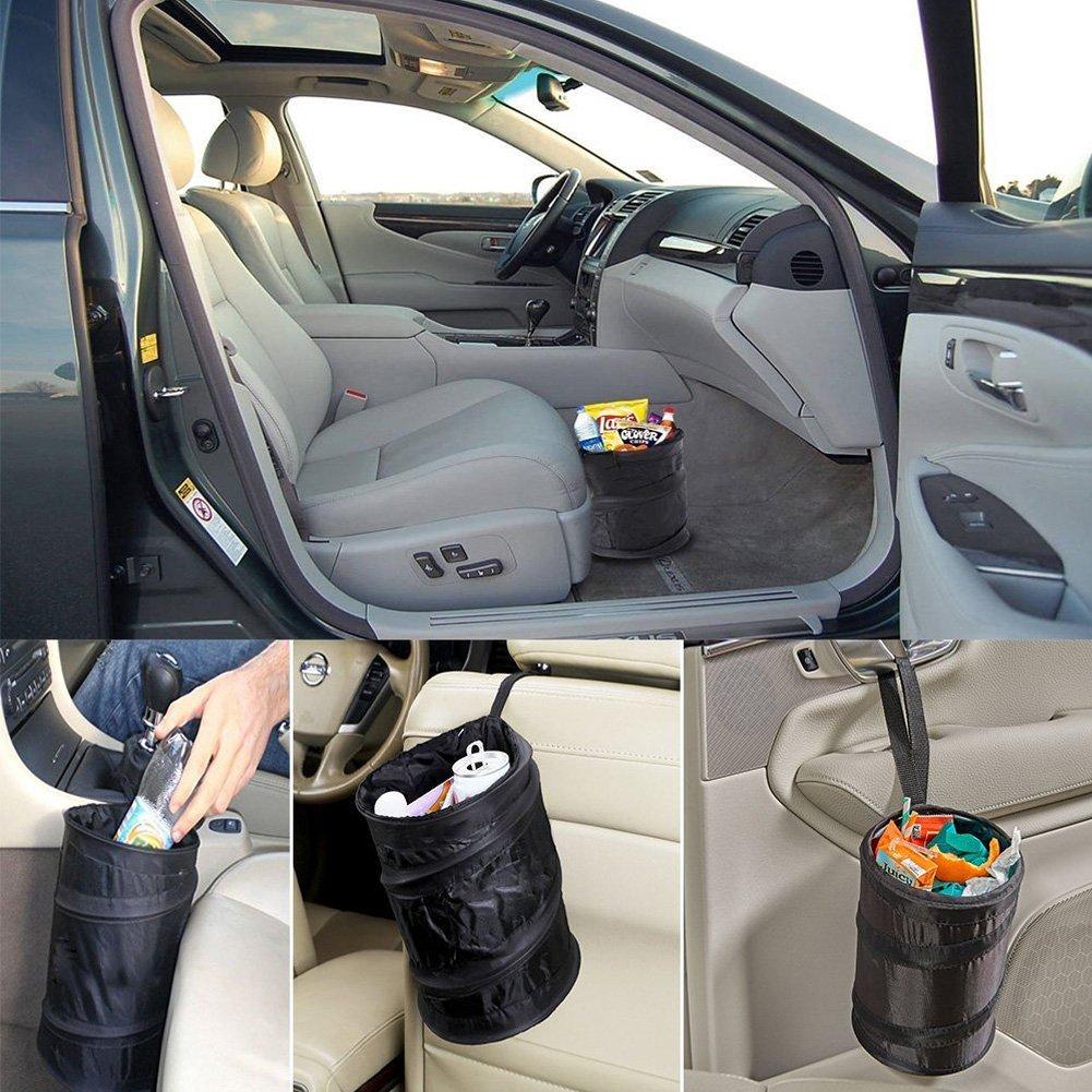 BeiLan 2 Pezzi Reti per Bagagliaio Auto Rete Portaoggetti Tasca Oganizer Elasticizzata con Velcro Rete Accessoria Universale per Auto Telo Protettivo Portaoggetti Organizer per Bagagliaio Tronco Auto