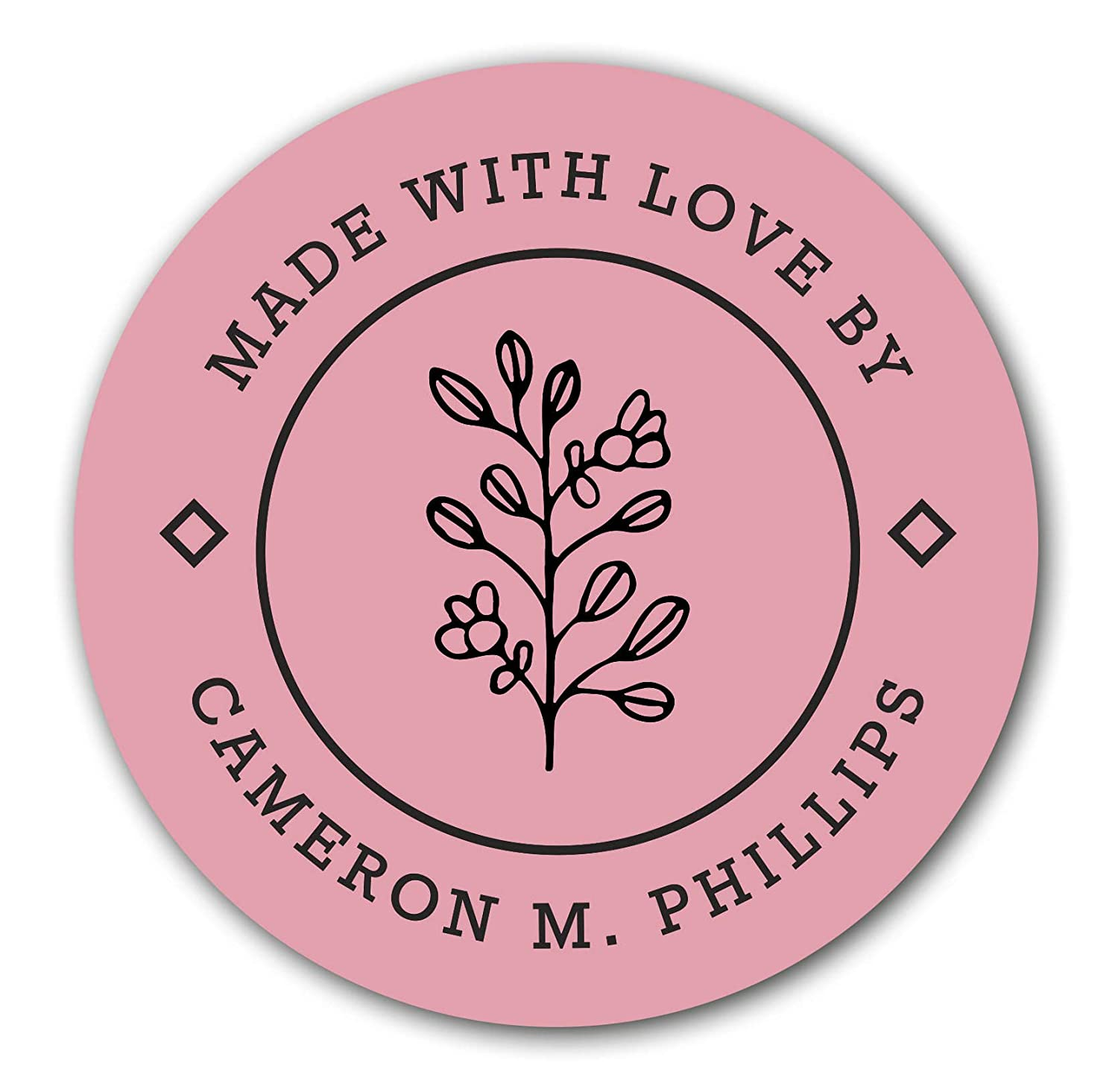 Handmade with Love Custom Made with Love Stickers Custom Gift Stickers Favor Labels Gift Stickers Favor Stickers 22:26