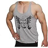 Men Gym Wear T-shirt Bodybuilding Fitness Workout TankTop by FITBEAST