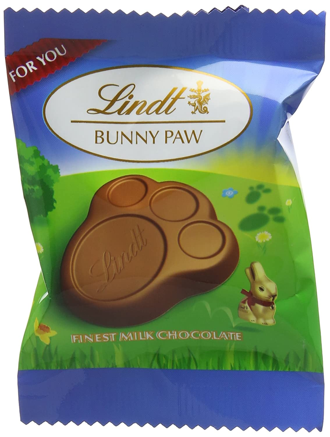 Lindt Bunny Paw 20 G Pack Of 33