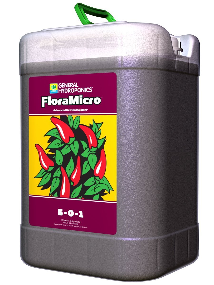 General Hydroponics FloraMicro, 6 Gallon by General Hydroponics