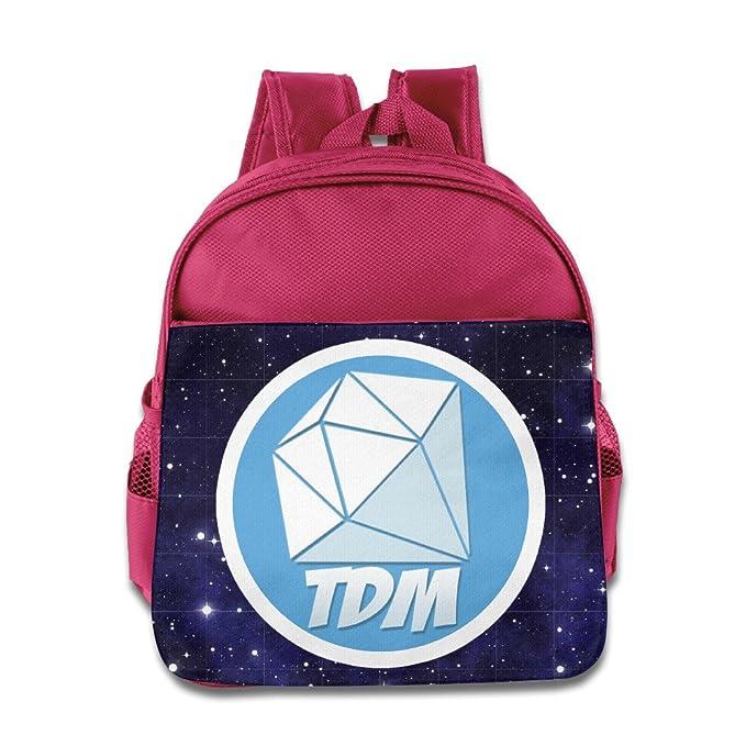 Dan TDM Personalised Childs School Bag Kids Backpack Rucksack