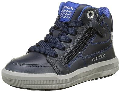 Geox J Arzach F Sneaker a Collo Alto Bambino 77b2366ddb6