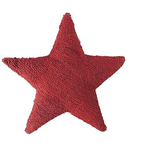 Cojín de estrella rojo: Amazon.es: Bebé