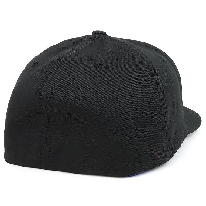 c085b18c5d7 Armycrew Flexfit XXL Size Curved Bill Mid Profile Baseball Cap - Black at  Amazon Men s Clothing store