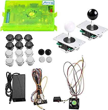 TAPDRA 3A Original Pandora's Box 6 Arcade Board Full DIY Kit, 1300 Retro  Games with Buttons/joysticks/Harness Cable/Power, Support Add Games, HDMI  VGA ...