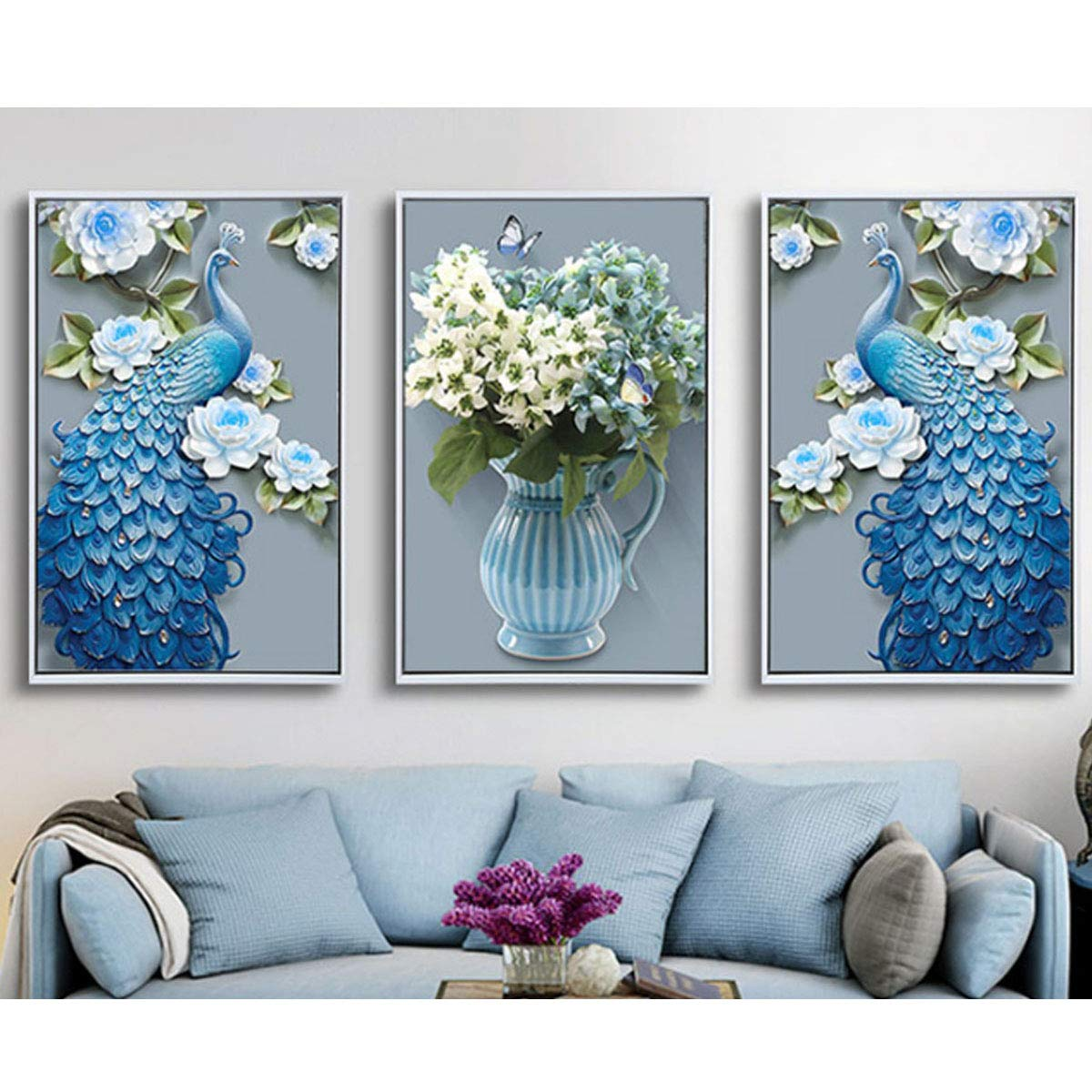 40x55cm Drunk Breeze Paint by Dimaond Kits for Adults Full Drills 16x22 Paint by Number Embroidery Kits with Diamonds for Home Wall Decor