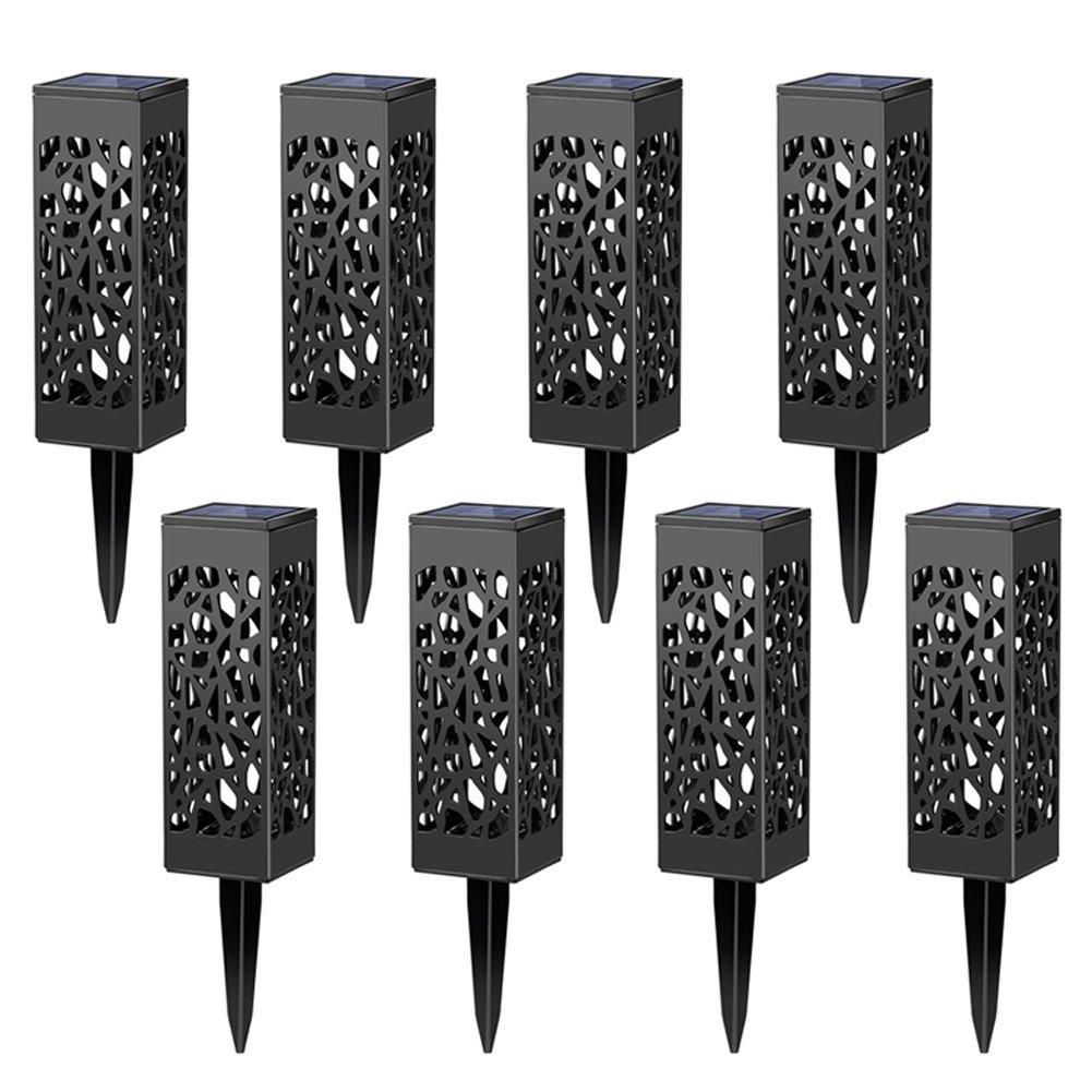 Amazon.com : Maggift 8 Pcs Solar Powered LED Garden Lights ...