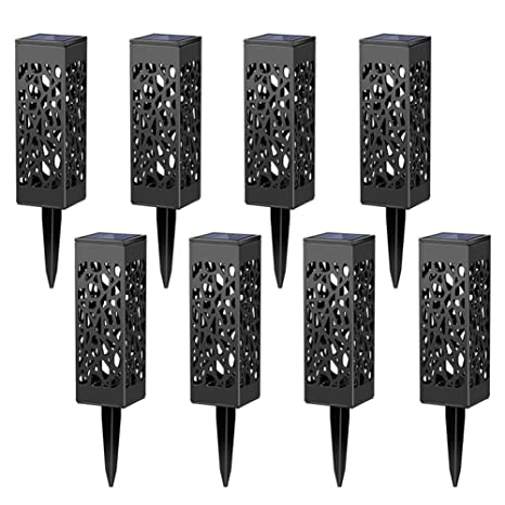 maggift 8 pcs solar powered led garden lights automatic led for patio yard and - Led Garden Lights