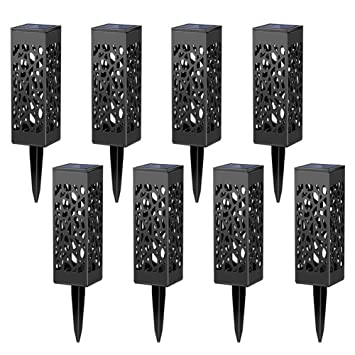 garden lights amazon. Maggift 8 Pcs Solar Powered LED Garden Lights, Automatic Led For Patio, Yard And Lights Amazon I