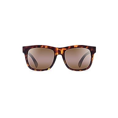 c389179ec6b7 Maui Jim SNAPBACK Sunglasses (H730-10M) Matte Tortoise 53-18-145:  Amazon.co.uk: Clothing