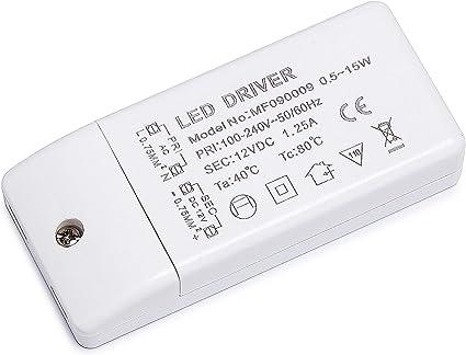 Alimentatore LED Trasformatore Trasformatore 12 Volt LED Trasformatore LAMPADINA LED LAMPADE 15w S