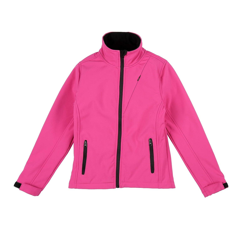 Iceburg Girls' Classic Soft Shell Jacket Size 14/16