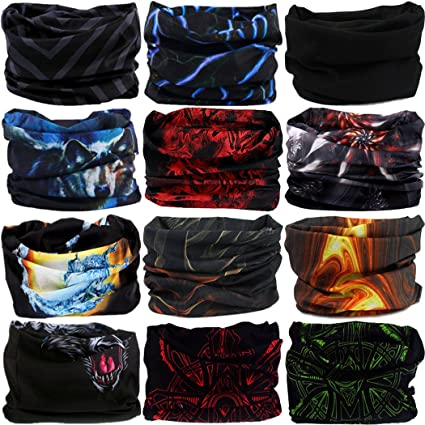 5d9c52bf4d5 Amazon.com   VANCROWN Headwear Head Wrap 220 Patterns Sport Headband ...