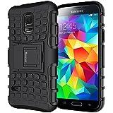 Galaxy s5 Case,Heavy Duty Rugged Dual Layer