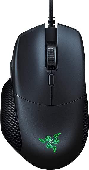 Razer Basilisk Essential Gaming Mouse: 6400 DPI Optical Sensor - Chroma RGB Lighting - 7 Programmable Buttons - Mechanical Switches - Classic Black