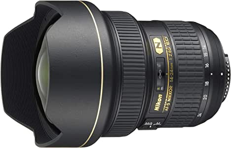 Nikon AF-S 14-24mm F2.8 G IF-ED, Black