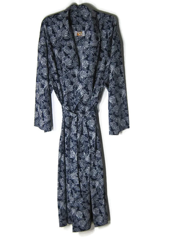 Hello Club Robes for Mens 3XL Blue Sleep Loungewear