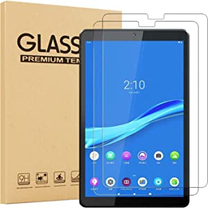 [2 Pack] EpicGadget Screen Protector, Lenovo Tab M10 FHD Plus (2nd Gen) TB-X606, Anti Scratch 9H Hardness Tempered Glass Screen Protector for Lenovo Tablet M10 FHD Plus 10.3 Inch Display 2020 Released