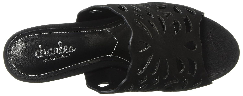 Charles by Charles David Women's Nicki Slide Sandal B075QJ16TF 6 B(M) US|Black