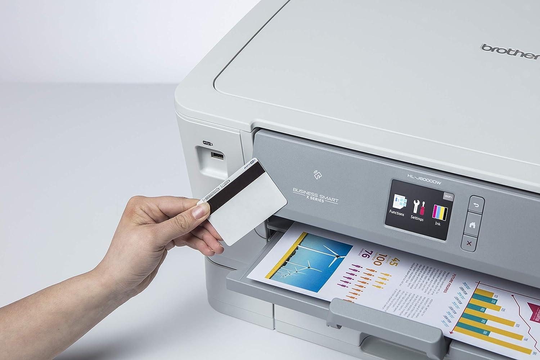 Brother HL-J6000DW - Impresora de inyección de Tinta A3 con impresión automática a Doble Cara (WiFi, NFC, conexión móvil y Cloud) Color Gris: Brother: Amazon.es: Informática