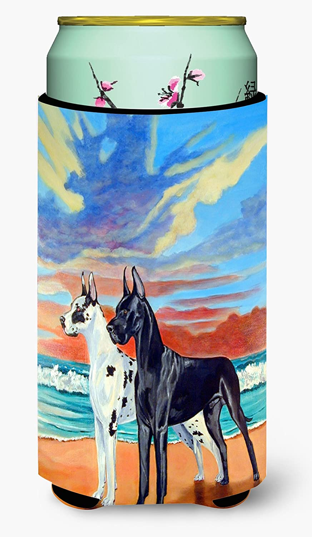 Caroline's Treasures 7051TBC At sunset Great Dane Tall Boy Beverage Insulator Beverage Insulator Hugger, Tall Boy, multicolor