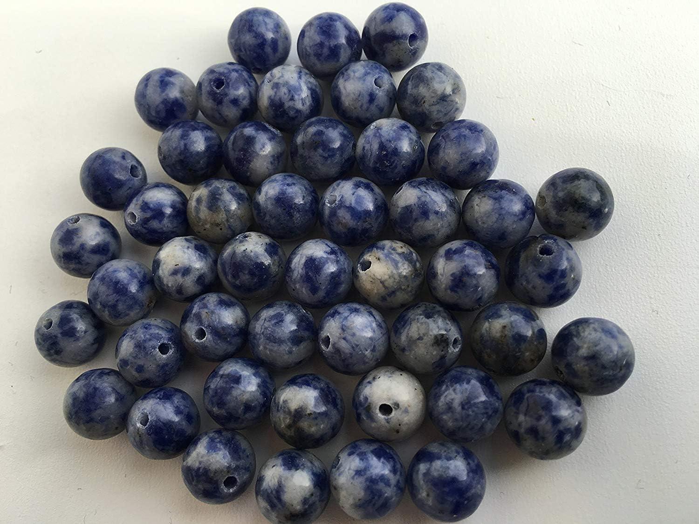 La mitad de la piedra de cuentas de piedras preciosas perlas de piedra de cuentas para manualidades de perlas de aventurin Obsidiana Jade de ónix de colour turquesa de pared de cuarzo con diseño de ti