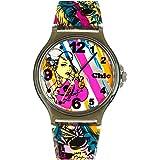 Teenie-Weenie Chic-Watches - Rockabilly Punk - montres pour femmes et enfants avec bracelet en plastique - UC009