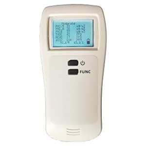 Air Quality Monitor TVOC Formaldehyde (HCHO) Detector PM2.5 PM1.0 PM10 Micron Particulate Matter Dust Pollution Meter for Home Office School Restaurants and Hospitals