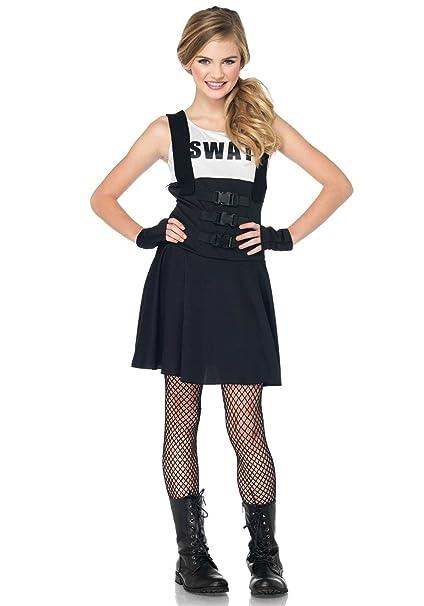 Leg Avenue - Disfraz de oficial SWAT adultos, talla M (J8385005001 ...