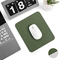 Levoit Desk Pad 23x20cm, Small PU Leather Mouse Mat, Double-Sided Use Desktop Mousepad, Smooth Waterproof Surface for…
