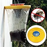 SELUXU Fly Trap Insect Bug Wasp Catcher No Poison Safe Effective Killer of Flies