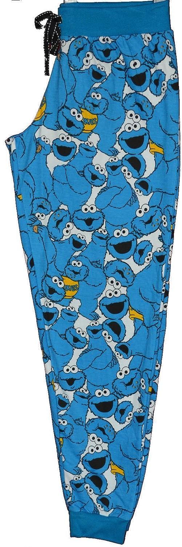 Primark damas niñas - Monstruo de las galletas de Barrio Sésamo Pijama PJ Set Jersey: Amazon.es: Ropa y accesorios
