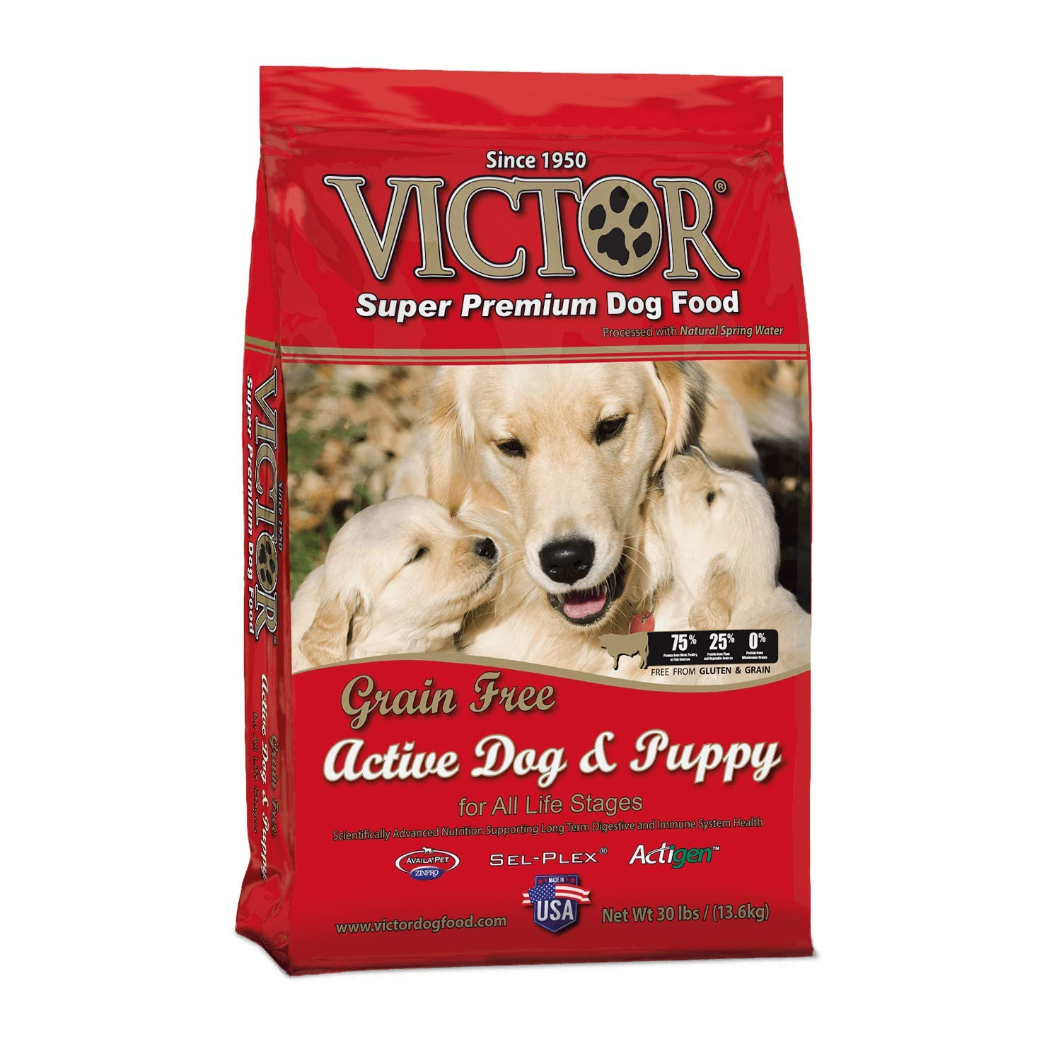 Victor Active Dog And Puppy Grain Free Dry Dog Food