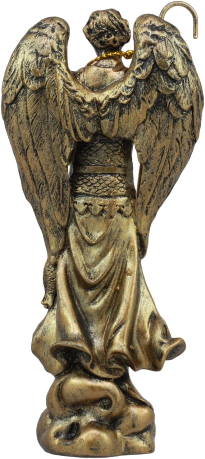 Amazon Com Gifts Decors Ebros Holy Archangel Saint Raphael Statue 5 Tall Patron Of Annointing Guidance And Healing Of God Collectible Figurine Sacrament Of Pennance Home Kitchen