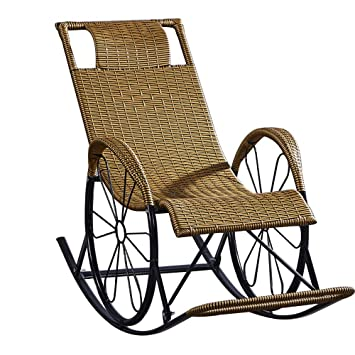 Amazon.com: Bseack_Store Chair Rocking Chair, Adult Nap Lounge Chair ...