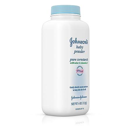 amazon com johnson s baby powder with naturally derived cornstarch
