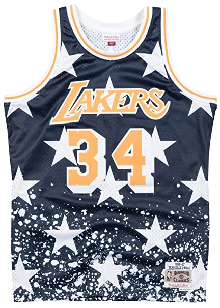 Mitchell   Ness Shaquille O Neal Los Angeles Lakers 4th of July Swingman  Jersey edee02569