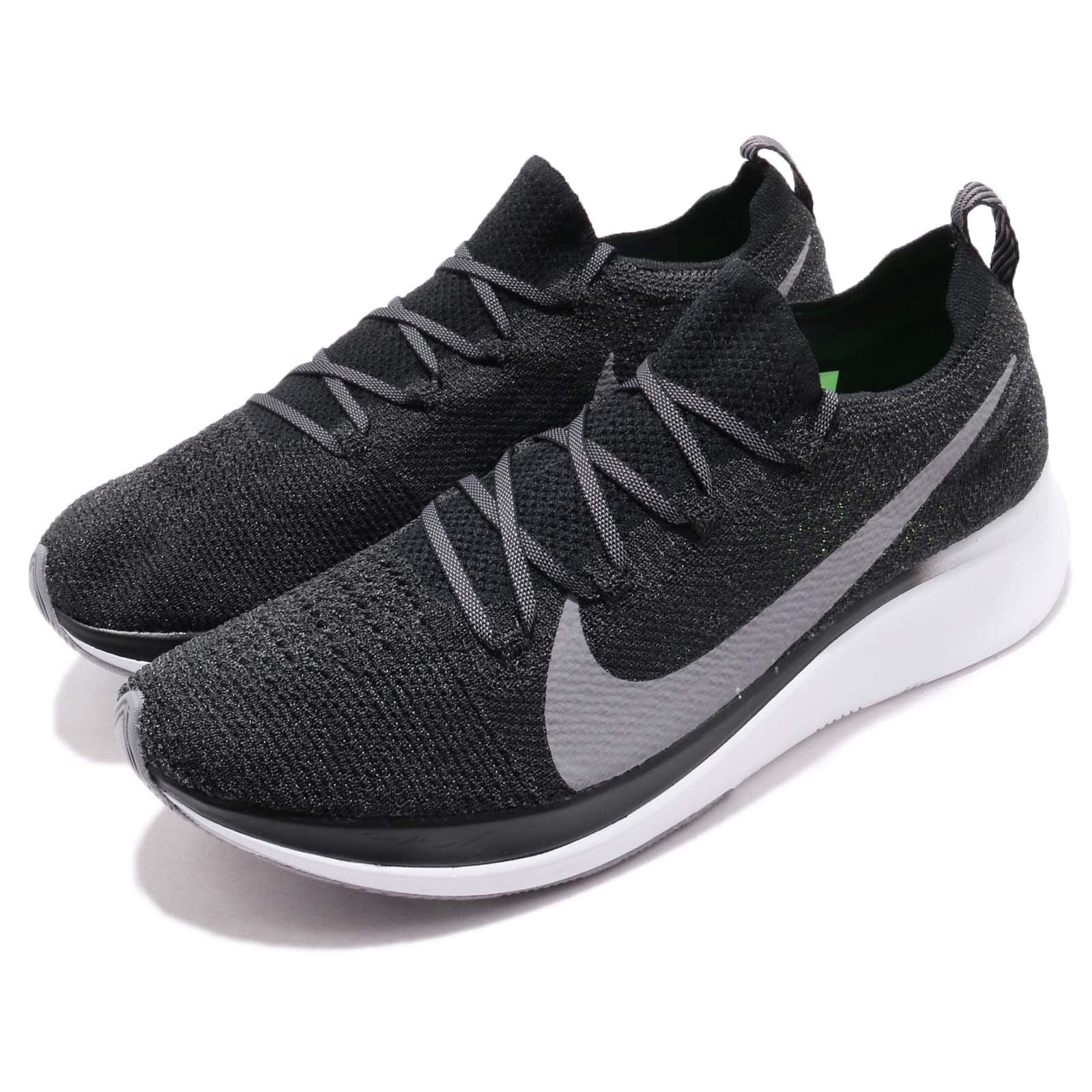 Nike Zoom Fly Flyknit Men's Running Shoe Black/Gunsmoke-White Size 7.5 by Nike (Image #8)