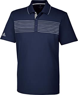 Adidas 3-stripes Mesh collier Polo de Golf Homme XXL vert felEDDGy