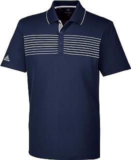 Adidas 3-stripes Mesh collier Polo de Golf Homme XXL vert
