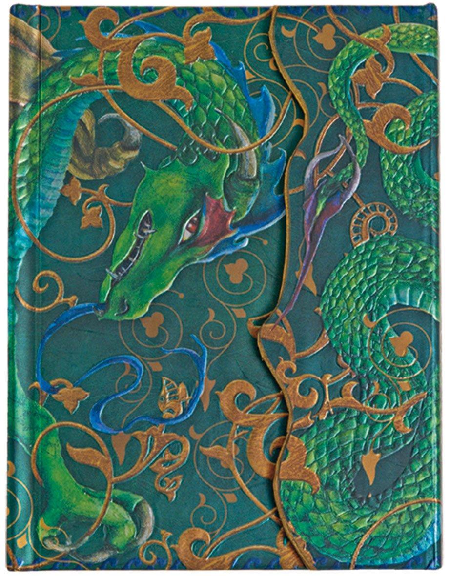 Boncahier 107011 Notizbuch Once Upon A Time 17.5 X 14 Cm 140 Seiten Liniert Motiv Drache  Cuadernos Magicos